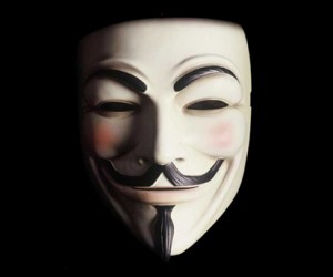 Join the legions of anonymous with this cool Guy Fawkes V for Vendetta Mask.