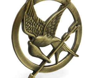 The Hunger Games MockingJay Pin is a token of your district and a symbol of the rebellion. Wear it with pride. Metal with pinch-style butterfly clutch pin back (like a tie tack […]
