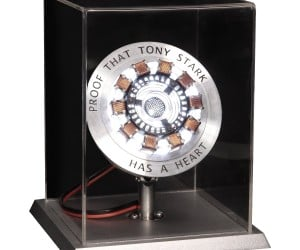 Own your very own officially Licensed Marvel Iron Man Movie Arc Reactor Prop Replica now and hold in your hands proof that Tony Stark has a heart.