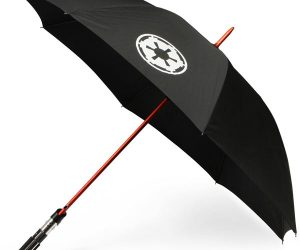 These Star Wars Lightsaber Umbrellas are just freaking awesome. The hilts have been scaled down a bit,