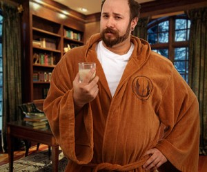 Dry off in style with the Star Wars Jedi Bathrobe Adult – one-size-fits-all Available in two styles. Jedi (brown) and Sith (black – pics coming soon!) Super soft cotton terrycloth […]