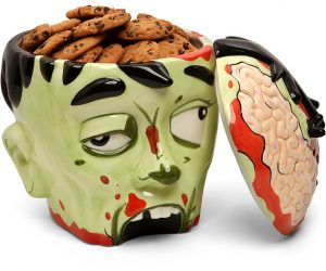 Do you think that if zombies had enough presence of mind to cook, that they'd bake things out of brains?