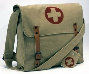 Like pretending that you are out saving lives? Then the Rothco Battlefield Messenger Medic Bag is for you…
