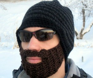 Ever wondered how warm a beard keeps your face? Well now you can find out with the Original Beard Beanie!