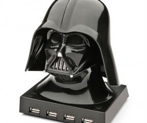 Use the force with this cool Darth Vader usb hub – the hub can hold up to 4 usbs at once and looks ultra stylish and cool while doing it!