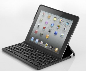 Finally a physical keyboard for your iPad – the Zaggfolio keyboard works for both second and third generation iPads.