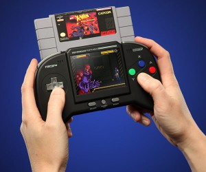 Bring back the classics you love with the Retro Duo Portable NES/SNES Game System. Forget temple run its time to save the princess.