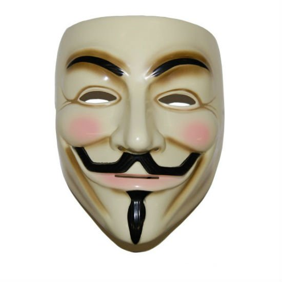 ... legions of anonymous with this cool Guy Fawkes V for Vendetta Mask