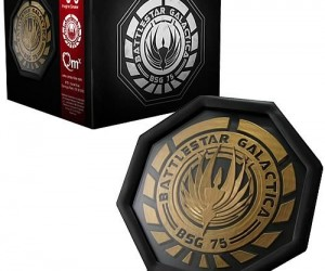 Battlestar Galactica Coasters – Glen A Larson approved!