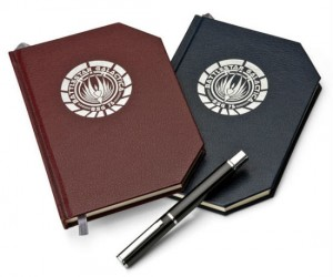 Battlestar Galactica Notebook – Write a better ending with the super stylish Battlestar Galactica Notebook