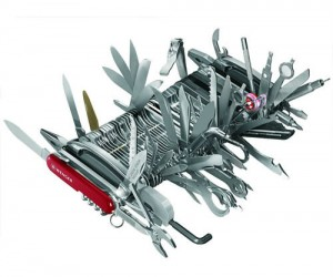 Giant Swiss Army Knife: Now you can own just about every tool known to man with the Giant Swiss Army Knife