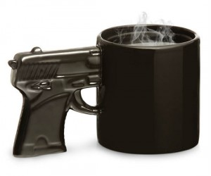 The Gun Mug – Perfect for criminals and gun enthusiasts