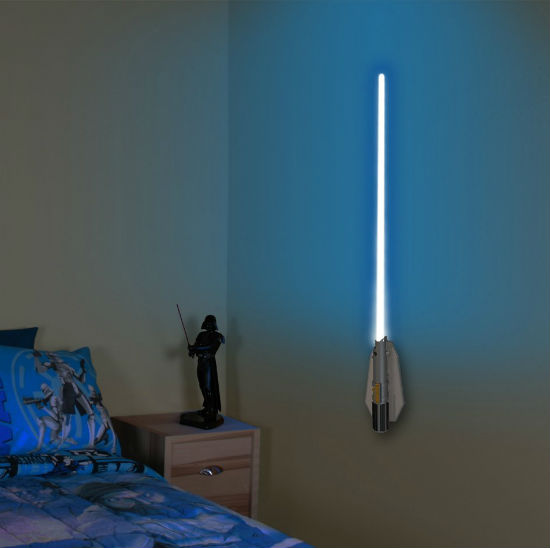 Lightsaber Wall Light Toys R Us : Lightsaber Wall Sconce Shut Up And Take My Money