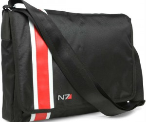 Mass Effect Messenger Bag –  Make Commander Shepard proud with the Mass Effect messenger bag.