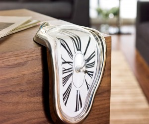 Why not get a melting clock to put in your living room or wherever, it would probably make a great conversation starter.