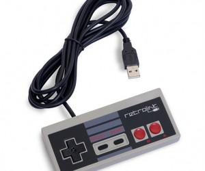 Miss the feeling of the classic NES controller in your hand? Well now you can get that great feeling back with the NES USB controller.