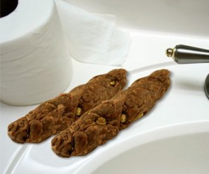 I don't even…It's poop it's soap it's disgusting what else can I say? Corny Poop Soap