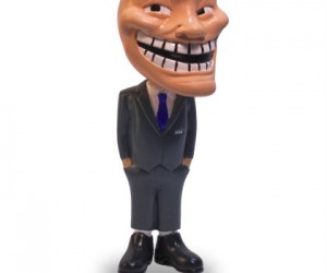 Trollface Meme Figurine: Troll your friends with the new collectable Trollface meme figurine from MemeArmy.com