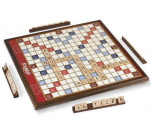 Rotating Oversized Scrabble Game – If you're into scrabble and oversized rotating game boards than this is the product for you.