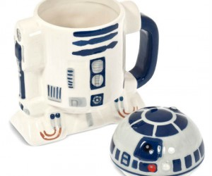 R2D2 Mug with Lid! – Beep beep boop boop now you can enjoy your favorite beverage in your new R2D2  mug beep beep boop boop
