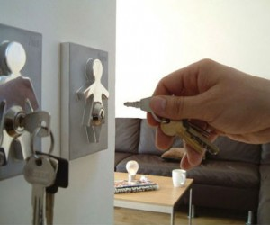 Couple Human Key Holders: Perfect for holding his and her keys