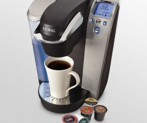 The Keurig brewing station coffee maker – makes the best cups of coffee known to man.