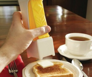 Tired of cutting butter yourself? Leave it up to the one click butter cutter to do all the hard work for you