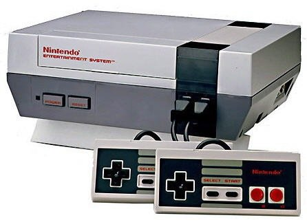 original nes console