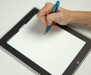 If buying an iPad is too expensive check out the iPaper Pad instead. Basically it's a paper pad that resembles an iPad great for jotting down notes or as a […]