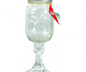 If you're feelin fancy but not too fancy why not treat yourself to some wine from the Original Redneck Wineglass
