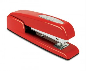 Have you seen my stapler? Now you can own the same red stapler made infamous by the hit movie Office Space