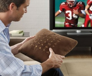Pillow remote control – Now you'll never lose the remote again