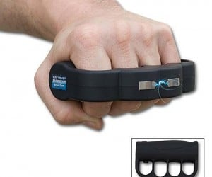 Brass Knuckle Taser – Probably one of the greatest inventions in manliness ever.
