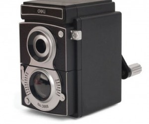 Camera Pencil Sharpener – Made to look like an old timey camera this is actually a pencil sharpener in disguise