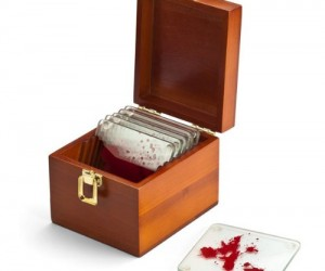 Dexter Coaster – Inspired by America's favorite serial killer, these blood stained coasters are sure to be a conversation starter