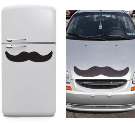 giant mustache magnet