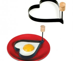 You'll fall in love with this heart shaped egg mold (also good for pancakes)