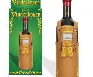 Vinderhosen – Give as a gift or keep for yourself, because no matter what, wine bottles look great in these terrific trousers