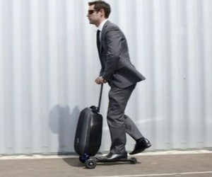 Micro Luggage Scooter – Why walk when you can scoot?