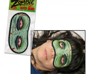 Zombie Sleep Mask – Block out the sun and sleep like the dead with the zombie sleep mask