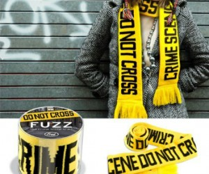 Crime Scene Scarf – Not only will it keep you warm, but I was thinking it would make a great accessory for your zombie costume. You know, because the body […]