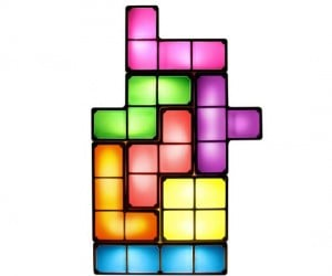 Stackable Tetris Light – Remember the good ol' days when you would spend hours playing Tetris while you stack these lights however you want.