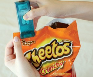 Your chips will never go stale again as long as you use this bag re-sealer when you put them away after a snack. Or I'm sure you could come up […]