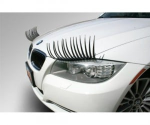 Carlashes – Have the most fun and flirty car on your block with these eyelashes for your headlights.