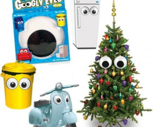 Giant Googly Eyes – Give a little character to any inanimate object, come to think of it, pair these with the giant magnetic mustache and give it a lot of […]