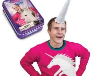 Satisfy your inner unicorn who is yearning to run free with the inflatable unicorn horn