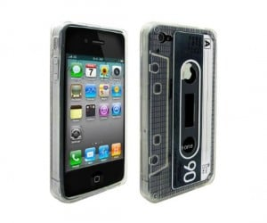 Audio Cassette iPhone Case – Combine the obsolete with the up to date.
