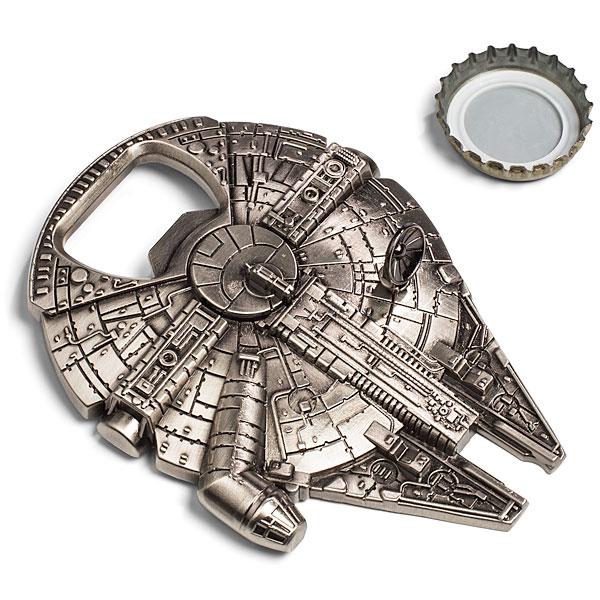 millenium falcon bottle opener