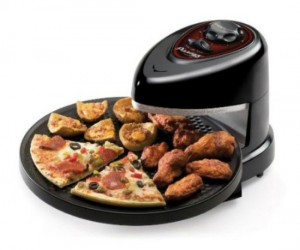 Personal Pizza Oven – You never expected it to be so much fun cooking your own pizza did you? I can already smell that take n' bake, yummmmm…