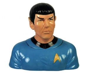 Spock Cookie Jar – Bake me up Scotty, I want to boldly go where no cookie has gone before.